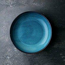 8 Zoll Europäische Retro Keramik Ramen-Schüssel