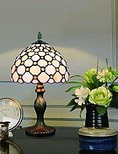 8-Zoll-europäischen Retro Glasmalerei White Pearl