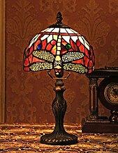 8-Zoll-europäischen Vintage-Stil Glasmalerei