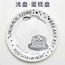 8 Zoll Flache Teller Porzellan Geschirr Sushi