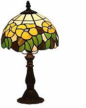 8 Zoll Glasmalerei Tischlampe Tiffany Stil