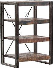 80 cm Bücherregal aus Massivholz Williston Forge