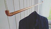 80 cm Premium Design Kleiderstange,