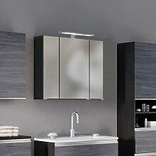 80 cm x 66 cm Spiegelschrank Tulane