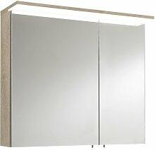 80 cm x 70,8 cm Spiegelschrank Mccasland mit