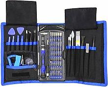 80 in 1 Präzisions-Schraubendreher-Set mit Driver Kit, Professional Electronics Repair Tool Kit mit tragbaren Oxford Tasche für Reparatur Handy, iPhone, iPad, Armbanduhr, Tablet PC, MacBook und mehr