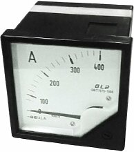 80 mm, 400 AC Analog Panel Meter Amperemeter