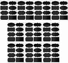 80 Stück 8 Designs Blanko-Etiketten für