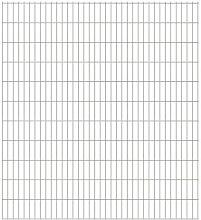 800 cm x 223 cm Gartenzaun Franklyn aus Metall