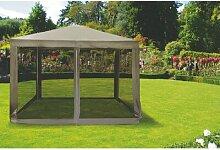 800 cm x 800 cm Pop-Up-Pavillon Carrie-Ann aus