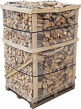 800 Kg Brennholz Kaminholz reine Buche sauber auf