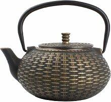 800 ml Teekanne Back aus Gusseisen