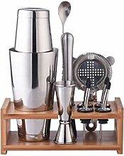 800ml Edelstahl Cocktail Shaker Mixer Getränk