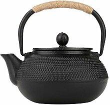 800ml Infuser japanische Gusseisen-Teekanne,