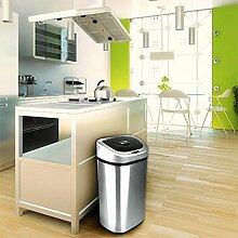 80L Hände berühren frei Großes Kapazitäts-Recycling Doppel-Doppel-Duo 2 recycle Fachautomatik Küchen-Sensor Abfall Papier Plastik Mülleimer - AutoBin