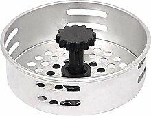 80mm Dmr Küche Badezimmer Masche Loch Waschbecken Sieb Stöpsel Filter Ablass