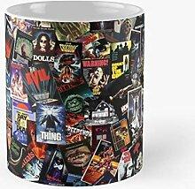 80S Horror Slasher Best 11 Ounce Ceramic Coffee