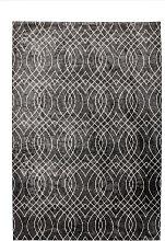 80x150 Teppich Bellevie Exclusive 110 Silber /