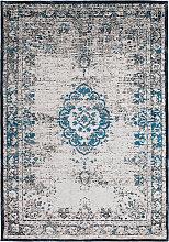 80x150 Teppich Cambodia - Suong Türkis von Lalee