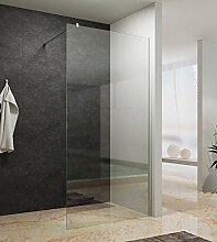 80x200cm Walk In Dusche 10mm Duschwand Glas