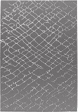 80x300 Teppich Bellevie Exclusive 410 Silber von