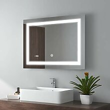 80x60cm LED Badspiegel Wandspiegel Beleuchtung
