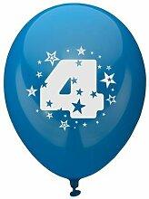 81424 - PAPSTAR - Zahlenluftballons Ã? 25 cm