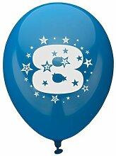 81428 - PAPSTAR - Zahlenluftballons Ã? 25 cm