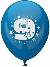 81429 - PAPSTAR - Zahlenluftballons Ã? 25 cm