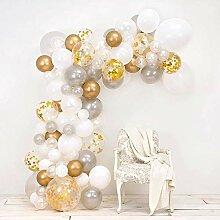 82 teile/satz Rosa Ballon Arch Kit Bunte Latex