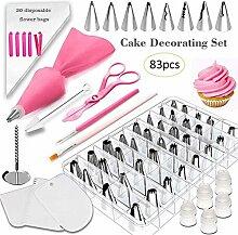 83Pcs / Set Kuchen, der Werkzeuge Kit