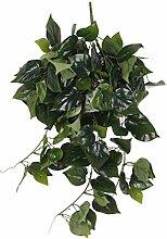 85cm Künstliche Wand Hängen Rebe Laub Blatt Pflanze Garten Dekor - Scindapsus Laub, XL