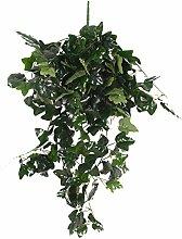 85cm Künstliche Wand Hängen Rebe Laub Blatt Pflanze Garten Dekor - Efeu-Rebe , XL