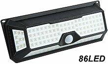 86/136 LED-Solarleuchten, wasserdicht,