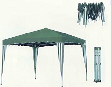 8704N20Falt Pavillon 3x 3m grün