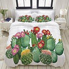 877 ZAEVO Bedding Bettwäsche,Cactus Saguaro Cask