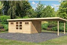 884 cm x 335 cm Gartenhaus Bastrup Woodfeeling