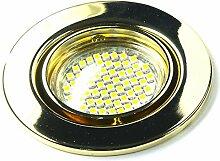 8er Set 230Volt LED SMD Einbaustrahler Alva. Spot