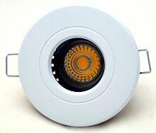 8er Set Einbaustrahler Delfi 230V IP54 Farbe Weiss