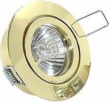 8er Set LED o. Halogen Einbaustrahler Lino für