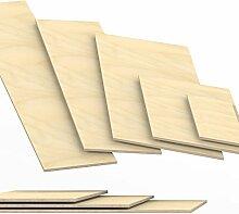 8mm Sperrholz-Platten Zuschnitt Länge bis 150cm