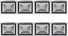 8pcs 50W LED Strahler Fluter,ALPHA DIMA 20W SMD