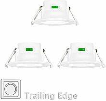 8W LED Einbauleuchten Decke Einbaustrahler Flach