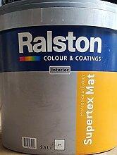 9,5L Ralston WANDFARBE Supertex Mat weiß
