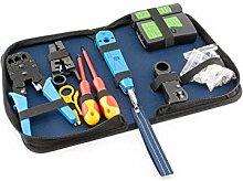 9 in 1 Hobby-Profi Netzwerk Werkzeug Set,