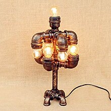 9 Lichter Vintage Lampe Installation Wohnzimmer