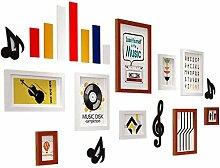 9 Multi Bilderrahmen Set, Wandrahmen Set mit 9