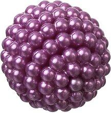9 Perlenbälle, Deko Kugeln PEARLS D. 28mm