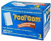 9 Pool Gom Toucan Spezialgummi für die Reinigung