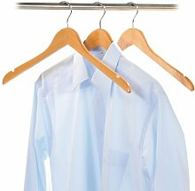 9 Stück Kesper Formkleiderbügel, Garderobenbügel, Kleiderbügel, (3 x 3er Pack), aus FSC Holz, Breite: 450 mm